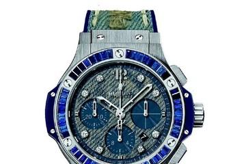 Big Bang Used Jeans Baguette - Khi đồng hồ kết hợp với vải Jeans