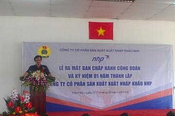 NHP - công ty của TS Lê Xuân Nghĩa được chấp thuận niêm yết trên HNX