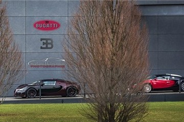 Lộ diện siêu xe Bugatti Veyron Vitesse La Finale cuối cùng