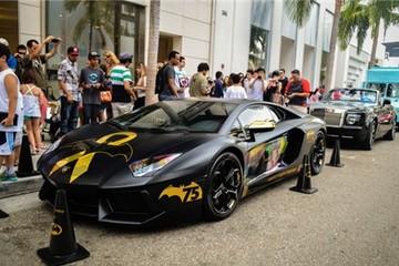 Lamborghini Batventador - siêu xe cho Batman