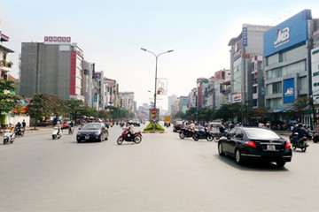 Những con đường đắt nhất Hà Nội