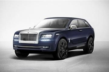 Rolls-Royce 4x4 có tên mã Cullinan, sản xuất năm 2017
