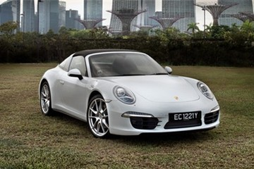 Porsche 911 Targa 4 đi tìm sự tự do phóng khoáng