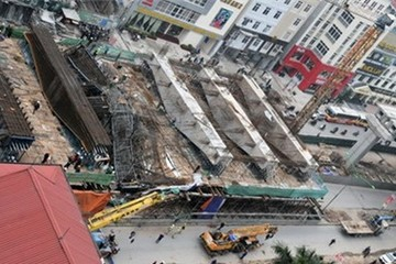 Hà Nội di chuyển nhiều công trình để làm đường sắt đô thị
