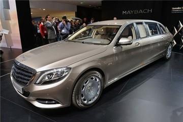 Xe nhà giàu Mercedes-Maybach S600 Pullman