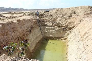 Hạn nặng đầu mùa khô