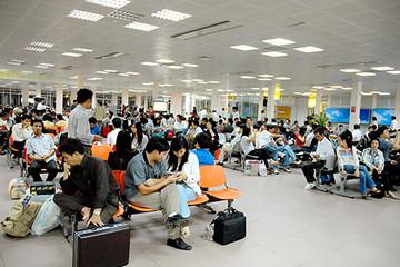 Gần 3.000 chuyến bay bị chậm trong tháng 2