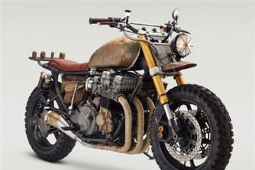 Honda CB750 phong cách 'đổ nát' đầy cá tính