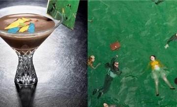 Các tác phẩm nghệ thuật ăn được ở Hong Kong