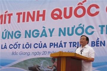 Việt Nam đang là quốc gia thiếu nước
