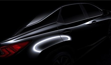 Lexus RX 2016 lần đầu lộ ảnh