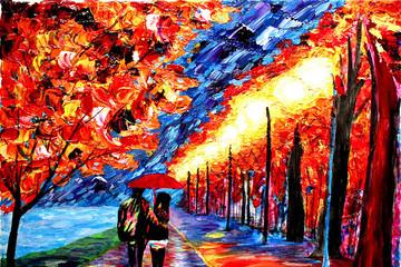 Kinh ngạc với những bức họa đầy màu sắc của họa sĩ mù