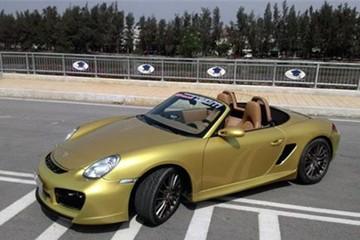 Porsche Boxster S độ body TechArt tại Việt Nam