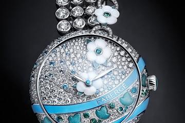 Sang trọng và đẳng cấp với đồng hồ quý bà Haute Joaillerie Summer in Provence của Fabergé
