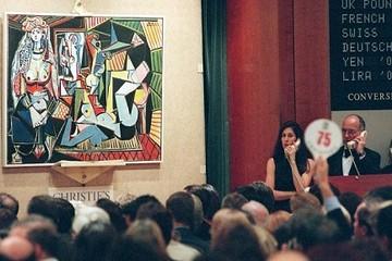 Bức họa nổi tiếng của Picasso chuẩn bị phá kỷ lục bán đấu giá