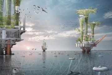 15 ý tưởng tuyệt vời cho tòa nhà chọc trời của tương lai