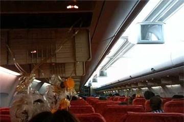 Máy bay Thái hỏng động cơ giữa trời, khách trào máu tai