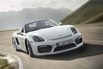 Porsche Boxster Spyder 2016 giá gần 90.000 USD
