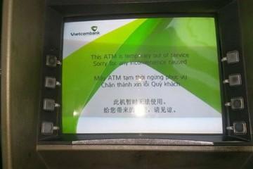 Tê liệt hàng loạt ATM ngày cuối tuần