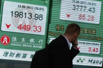Chứng khoán Hong Kong tiếp tục tăng choáng váng