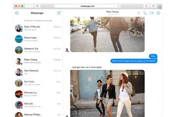 Facebook ra mắt Messenger cho máy tính