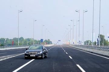 Phí sử dụng đường bộ tuyến Pháp Vân - Cầu Giẽ cao nhất là 180 nghìn đồng/lượt