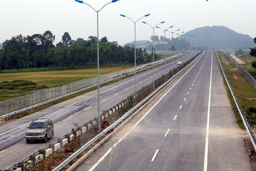 Ngày 19-5, thông xe 25km đầu tiên dự án cao tốc Hà Nội - Hải Phòng