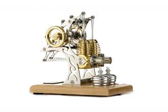 Mô hình động cơ Stirling tinh xảo