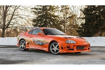 Đấu giá chiếc Toyota Supra huyền thoại trong Fast and Furious