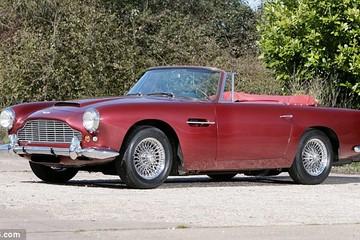 Một triệu bảng Anh: Giá chiếc Aston Martin của ngôi sao giành giải Oscar 1962