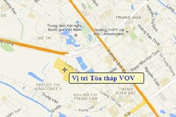 Hà Nội: Duyệt quy hoạch Tòa tháp VOV cao 29 tầng