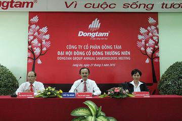 [ĐHCĐ Đồng Tâm ] Năm 2014 vượt 30% kế hoạch lợi nhuận, mua cổ phần Kinh Đô