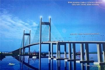 Shimizu - Vinaconex E&C xây cầu dây văng lớn nhất khu vực Đông Nam Bộ