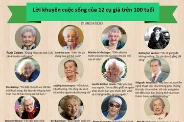 Bí quyết sống lâu của 12 cụ già trên 100 tuổi