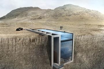 Nhà trên vách đá: Khi trí tưởng tượng không giới hạn