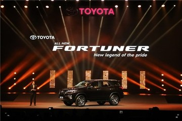 Ra mắt Toyota Fortuner 2016, giá từ 711 triệu tại Thái Lan