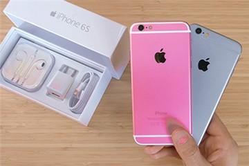 iPhone 6S chưa ra đã có hàng nhái màu hồng