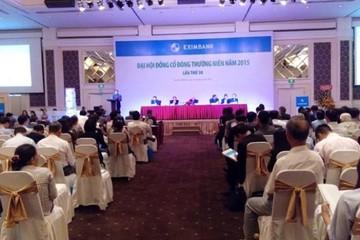 ĐHCĐ Eximbank: Đại diện Vietcombank yêu cầu hoàn trả 32 tỷ đồng đã chi cho HĐQT, BKS