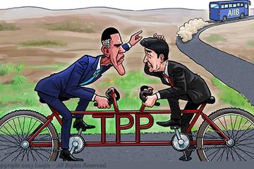 TPP vs AIIB: Đường dài mới biết ngựa hay