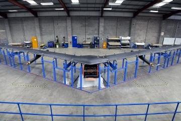 Facebook hoàn thành chiếc máy bay không người lái đầu tiên