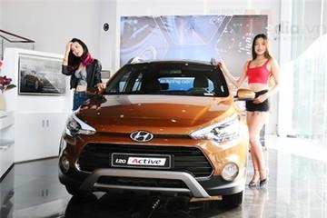Hyundai i20 Active giá 619 triệu đồng