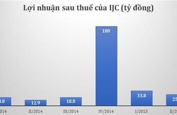 IJC lãi 25,7 tỷ quý II/2015, tăng 99% so với cùng kỳ