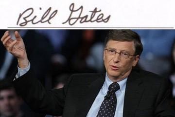 'Soi' chữ ký của các tỷ phú và CEO hàng đầu thế giới