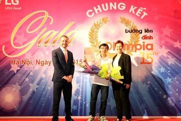 Nhà vô địch Olympia 2015 được nhận học bổng toàn phần 147.000 USD