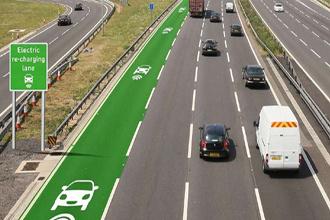 Thử nghiệm đường cao tốc có khả năng… sạc điện