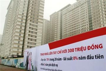 Còn tồn kho gần 11.700 căn hộ chung cư