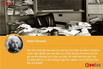 'Soi' bàn làm việc để biết tư chất thiên tài!