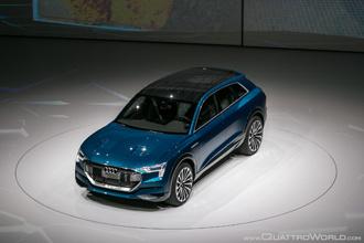 Audi giới thiệu SUV hạng sang chạy điện tại IAA 2015