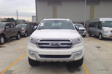 Ford Everest hoàn toàn mới đã xuất hiện Việt Nam