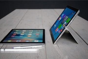 5 lý do cho thấy iPad Pro chưa phải là đối thủ của Surface Pro